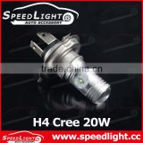 hot selling high power H1 H3 H4 H7 H8 car led light bulb