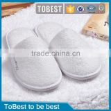 ToBest Hotel disposable supplies Hot selling White Disposable slippers Hotel Bathroom Slippers