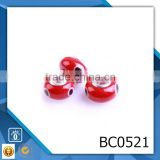 alibaba hot sale wholesale murano glass beads accessories for charm beads snake bracelet BC0521