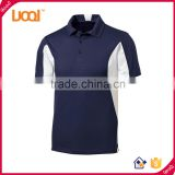 GuangZhou LuoQi Custom design breathable mens polo shirt 100% polyester golf sports dri fit polo t shirt wholesale