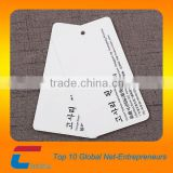 High quality Glossy Paper Card& logo hang tag /name cards/Luxury garment Business card