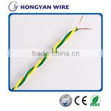 heat resistant insulation for electrical wire household appliances PVC Insulation Flexible twisted wire with good quality