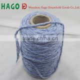 cotton polyester melanged yarn regenerated mop yarn