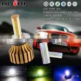 Bule and yellow color for choice generation Canbus led head light h4 car led headlight kit