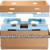 Base and lid red wine packaging carton high class
