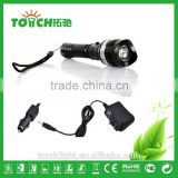 Rechargeable High Power Led Flashlight 2000 Lumen Waterproof linternas 3 Modes Zoomable torch light lamp by 18650 Battery