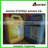 compatible wholesale konica printer ink for konica 512 1024 head