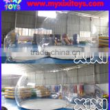 XIXI Outdoor PVC Camping Bubble Tent Clear Inflatable Lawn Dome Tent For Party                                                                         Quality Choice