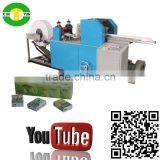High speed folded mini tissue pocket paper machine