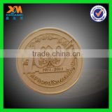 newest style fashion gold plated tungsten decorative coins (xdm-c345)