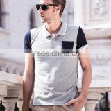 Hot sell hight quality 100% Cotton Men Tshirt and Classic Polo T-shirts or White T-shirt With Pocket with factory prices