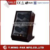 Store 12+4 Watces LED Light High Quality Top Grade Accept Trial Order Japanese Rotors Under wooden Watch Winder
