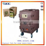 Electric warming food container catering and hotel equipment food heating cabinet with element