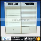 2016 OEM/ODM factory direct sale cheap price cell phone accessory display cabinet for mobile phone sell