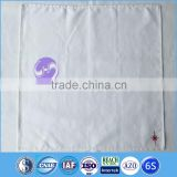 100% cotton fabric white embroidered dinner cocktail table napkin