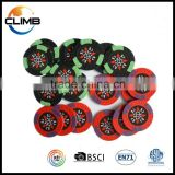 Custom logo professional reasonable price14g clay/ceramic poker chips Las vegas casino poker chips                                                                         Quality Choice