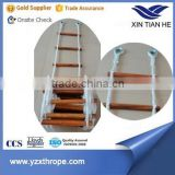 Fishing boat used Rope climbing ladder made in China