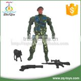 2016 cheap plastic military toys play set