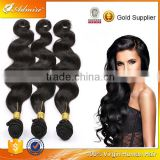 Alibaba Express Gold Supplier Shiny Healthy Hair Cheap High Quality Remy Virgin Brazilian Human Hair Body Wave