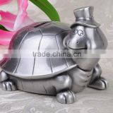 zinc alloy turtle saving box