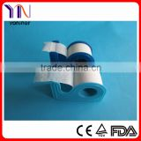 paper tape with blue dispenser