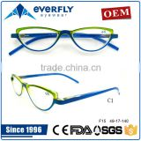 Newest eyeglasses frames fancy pc pouch radiation protective reading glasses for computer