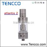 wholesale Original aspire atlantis 2 3ml tank newest Airflow Control atlantis v2 tank with sub ohm coil