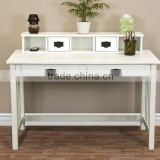 2016 Latest Alibaba China New Products Writing Desk Mission White Home Office Computer Desk Solid Wood Construction New