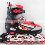 ACTION brand Roller Skate PW-126B Sport Shoes Aluminum Frame Inline Skates Flashing Roller Optional Outdoor Sports