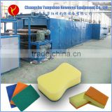 superior quality custom natural gas heating scouring pad production line