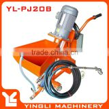Gypsum Plaster Spray Pump Rendering Machine and Mixer PJ20B+JB100
