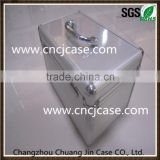 Household China carrying medical paramedic double-open trays aluminum first aid kit tool box