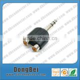 coaxial cable rca double female audio connector