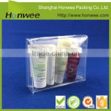 Inquiry About clear pvc plastic bag with snap button transparent bag plastic display case