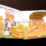 Hardcover baby bible hardback memory printing children book board book