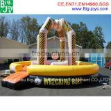 Black and Yellow Inflatable Twister Sport Games Inflatable Wrecking Ball for Sale