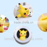 Promotional Cute Cartoon Pokemon Pikachu shaped USB Flash Drive 4g/8g/16g/32g USB 2.0 pen drive flash memory stick