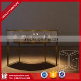 High End Luxury Modern Wood Stainless Steel Jewellery Showroom Shop Counter Design