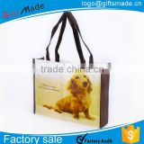 carry polypropylene tote garment shopping non woven bag
