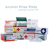 Customized size 70% alcohol wipes wholesale