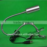 Desk LED Lighting- flexible arm (hose), led lamp 1W/3W