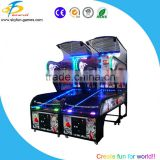 Luxurious coin operated basketball hoop game/arcade shooting basketball machine