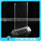 Manufurer Sale Insert A4 Poster Sign Holder, Clear Acrylic Menu Holders for Sale, Magnetic Sign Holder