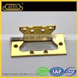 gold finished hinge, sliding door and furniture hardware