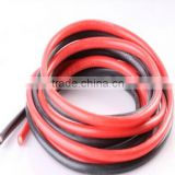 Silicone cable wire AWG 8 / 10 / 12 / 14 / 16 / 18 / 20 / 22 / 24 / 26 / 28 / 30 red and black