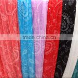 Exports in Europe and America the Middle East lady candy colored silk scarves and super pure folk style dual-purpose flower scar
