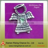 best selling metal angel brooches and pins for arts crafts