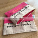 Yuanjie best selling recyclable organic cotton canvas bags,wholesale cotton cosmetic picking bags