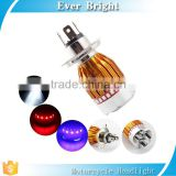 9~80V C-ree Led 5w Motorcycle Headlight H4 electric cars RGB Lights