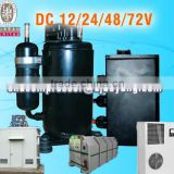 Air Conditioning Systems for minibus midibus bus tractor offroad and military vehicles with electric dc compressor